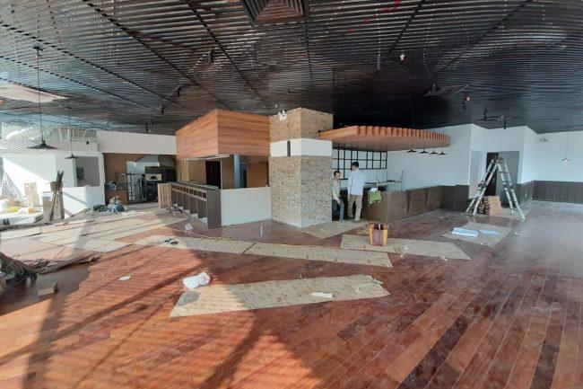 Công trình cửa gỗ Flatta nhà hàng Nhật Bản Dịch Vọng Hậu, Cầu Giấy