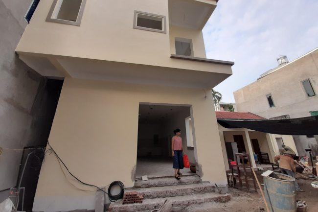 Công trình cửa gỗ Flatta FL101 nhà Anh Cường Gia Lâm, Hà Nội